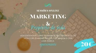 sessões online marketing & propósito de vida